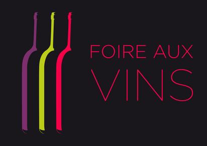 Bouteille de vin stylisées