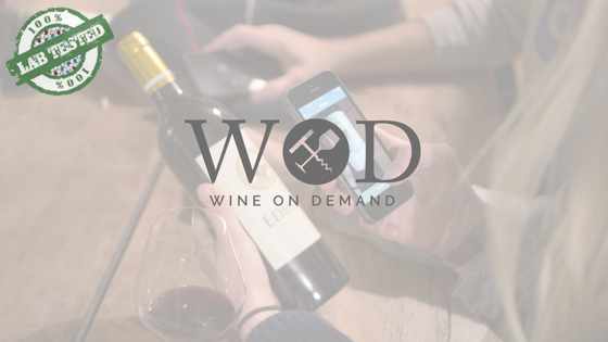 logo wine on demande