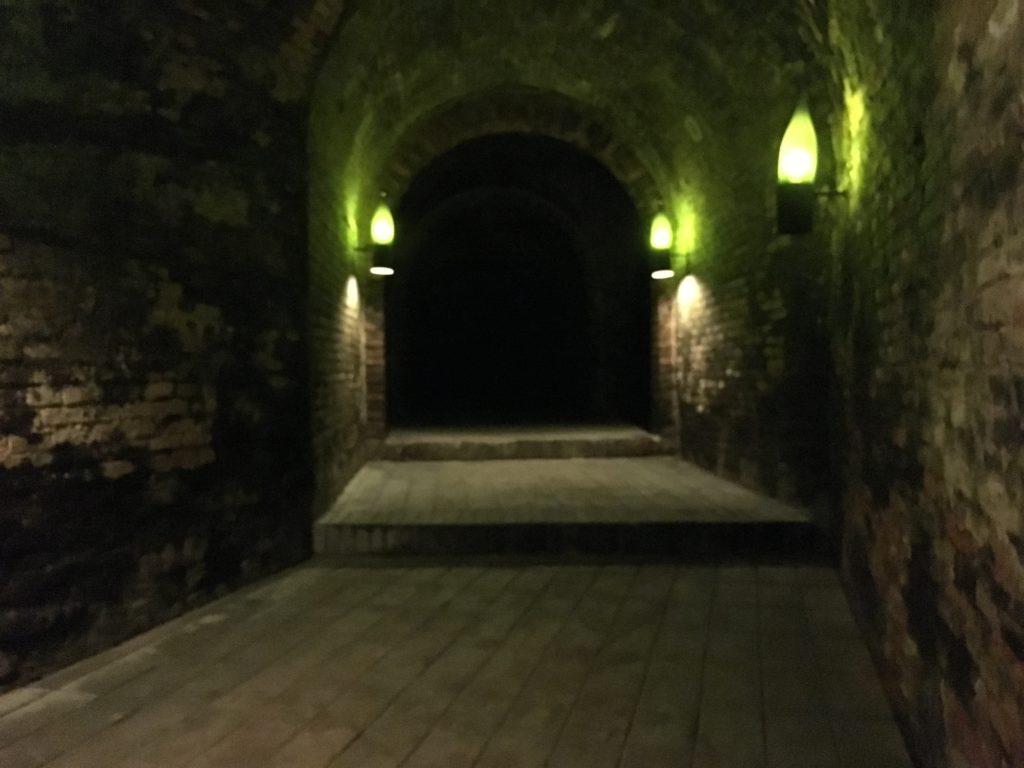 Dédale de cave