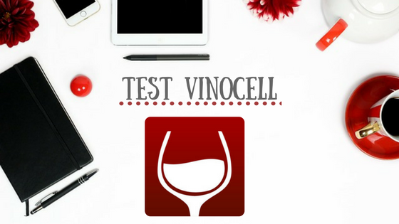test de l'application Vinocell