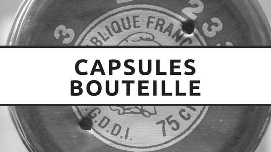 Les capsules de bouteille de vin