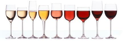 Sélection de verres à vin