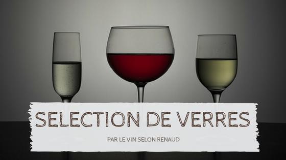 Article sur la sélection de verres à vin