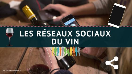 Les réseaux sociaux du vin