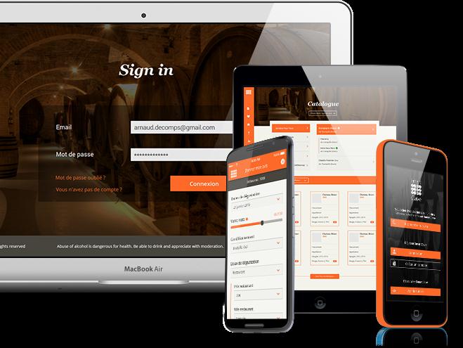 Smartcave est une app multisupport