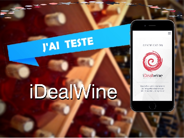 Test de l'application iDealWine