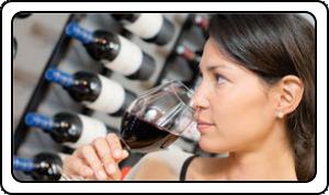 Sentir du vin lors de la dégustation