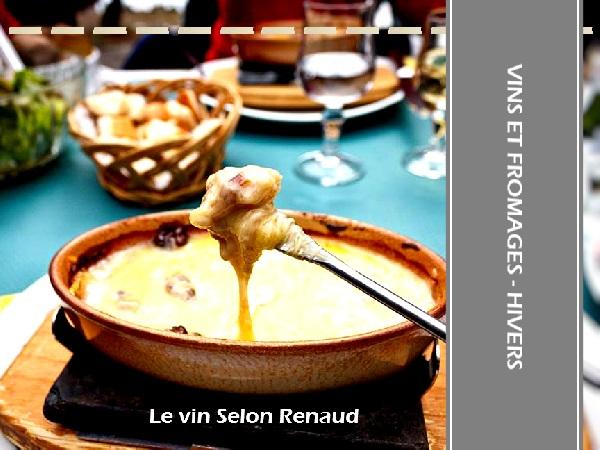 Vin et fromage d'hivers