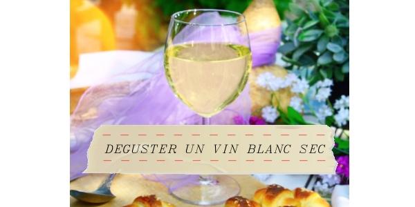 Reconnaitre et déguster un vin blanc sec