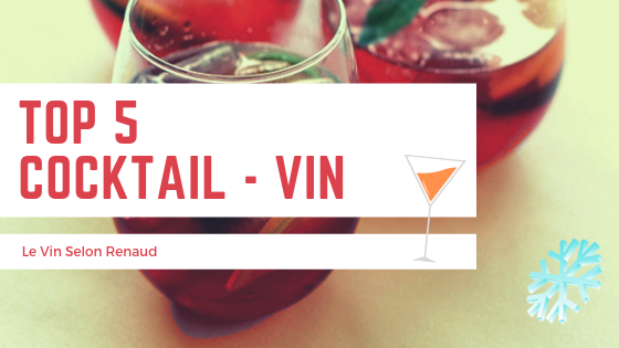 Top cinq cocktails à base de vin