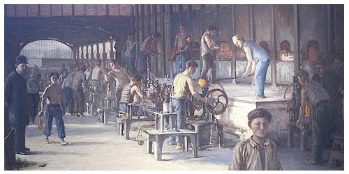 Représentation de la chauffe pour la distillation simple d'eau-de-vie