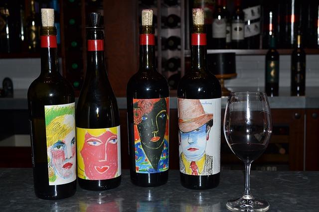 vin de Coppola, créativité des étiquettes