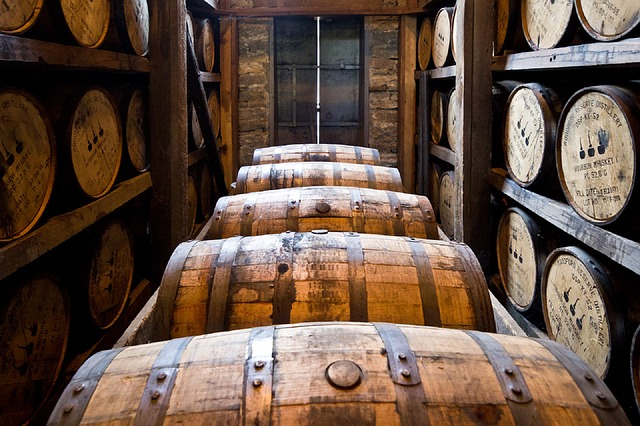 ieillissement du whisky en fûts de chêne