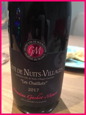 Pinot Noir - Cotes de Nuits Villages - Domaine Gachot Monot