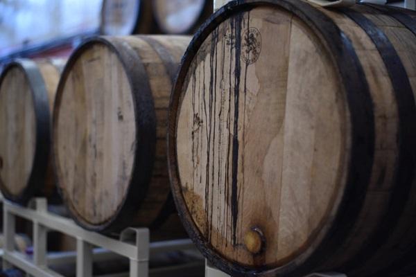 Elevage du vin en fût