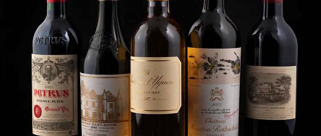 Les grands vins de Bordeaux - grands crus classés