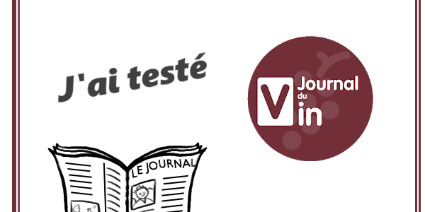 test de l'application Journal du Vin