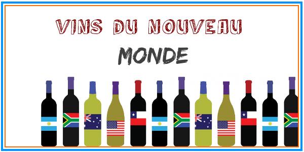 Les vin du nouveau monde