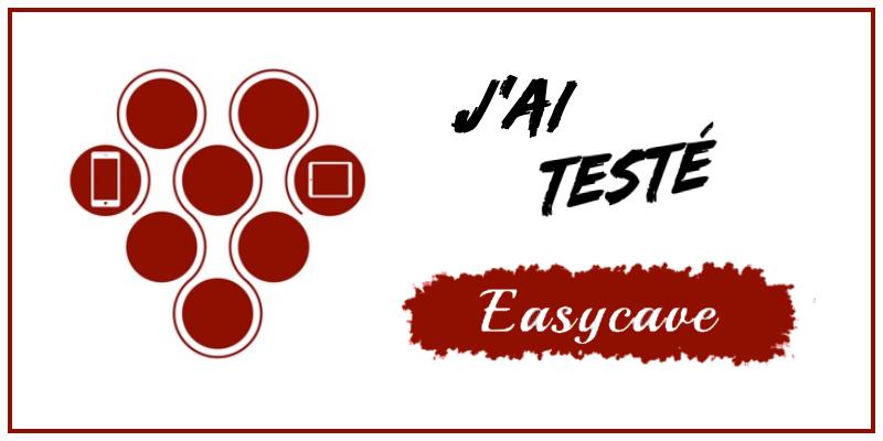 test de l'application de gestion de cave EasyCave