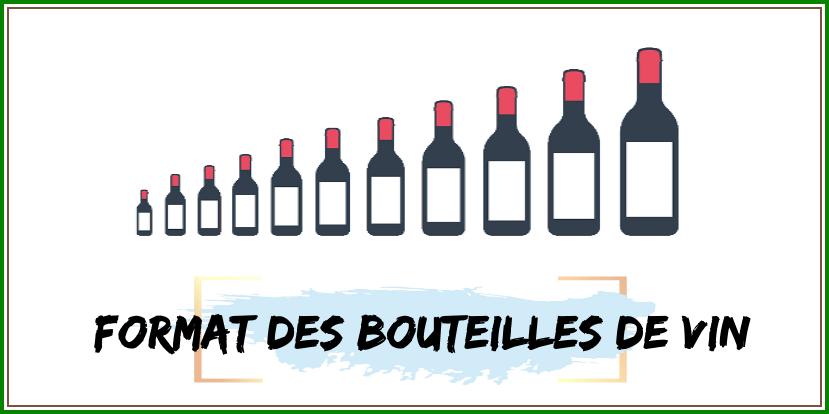 Noms et formats des bouteilles de vin